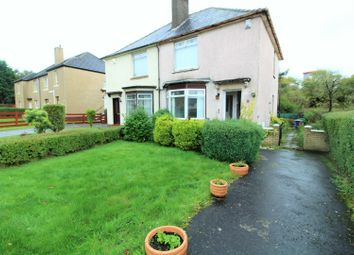 Thumbnail 2 bed semi-detached house for sale in Walnut Road, Glasgow