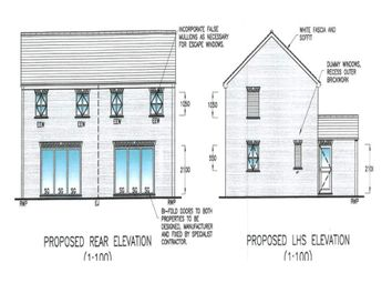 Thumbnail 2 bed semi-detached house for sale in Gala Close, Stilton, Peterborough
