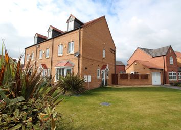 Thumbnail 4 bed town house for sale in Canalside View, Kilnhurst