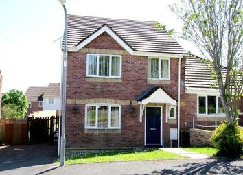 Thumbnail 4 bed semi-detached house to rent in Brynhyfryd, Llangennech, Llanelli, Carmarthenshire.