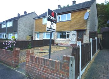 Thumbnail 2 bed semi-detached house to rent in Dale Valley Road, Shirley, Southampton