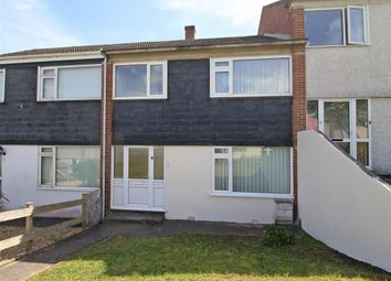 Thumbnail 3 bed terraced house for sale in Barcote Walk, Plymouth, Devon