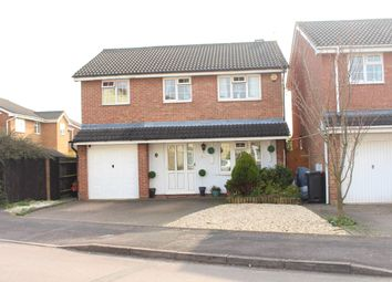 Thumbnail 4 bedroom detached house for sale in Godwin Road, Swindon