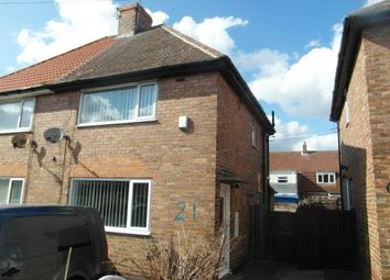 Thumbnail 2 bed semi-detached house to rent in Shinwell Terrace, Wheatley Hill, Durham