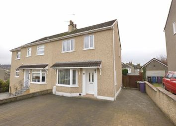 Thumbnail 3 bed semi-detached house for sale in Rockall Drive, Glasgow