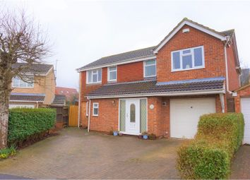 Thumbnail 4 bed detached house for sale in Wingfield, Swindon