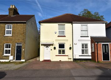 Thumbnail 3 bed semi-detached house for sale in Invicta Road, Stone, Dartford, Kent