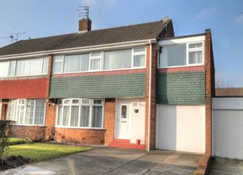Thumbnail 5 bedroom semi-detached house for sale in Chapel House Road, Chapel House, Newcastle Upon Tyne