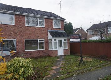 Thumbnail 3 bed semi-detached house to rent in Walgrave Close, Congleton