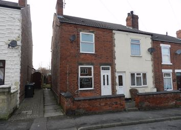 Thumbnail 2 bed end terrace house to rent in Priory Road, Alfreton, Derbyshire