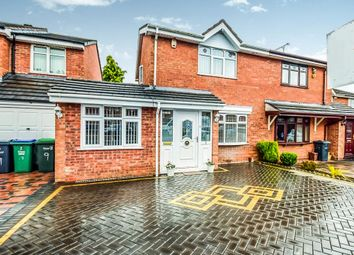 Thumbnail 4 bedroom semi-detached house for sale in Sefton Grove, Tipton