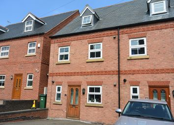 Thumbnail 3 bed town house to rent in Church Road, Kirby Muxloe