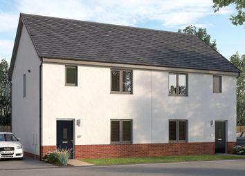"Thumbnail 3 bed terraced house for sale in ""The Hazelbridge"" at East Kilbride, Glasgow"