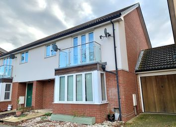 Thumbnail 4 bed semi-detached house for sale in Bewdley Grove, Broughton, Milton Keynes