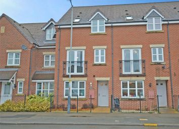 Thumbnail 3 bed town house for sale in Morgan Row, Lower Hillmorton Road, Rugby, Warwickshire