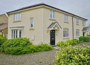 Thumbnail 3 bed semi-detached house for sale in Lannesbury Crescent, St. Neots