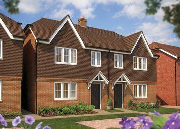 """The Hazel"" at Horebeech Lane, Horam, Heathfield TN21. 3 bed semi-detached house for sale"