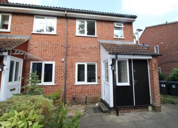 Thumbnail 1 bed end terrace house to rent in Grange Close, Hertford