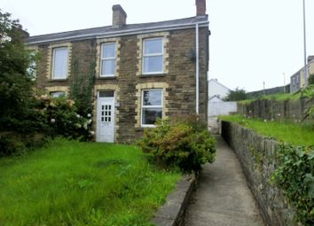 2 bed semi-detached house to rent in Twynybedw Road, Clydach, Swansea SA6