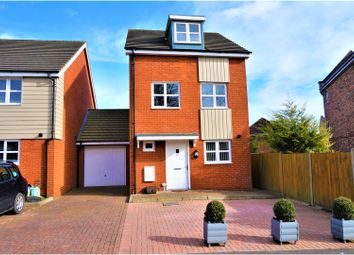 Thumbnail 4 bedroom link-detached house for sale in Mill Road, Limes Park, Basingstoke
