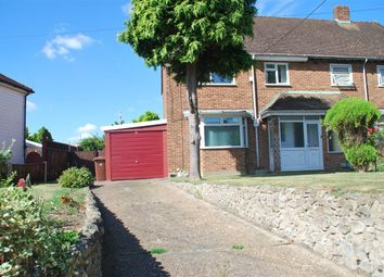 Thumbnail 3 bed semi-detached house to rent in Bells Lane, Hoo, Rochester