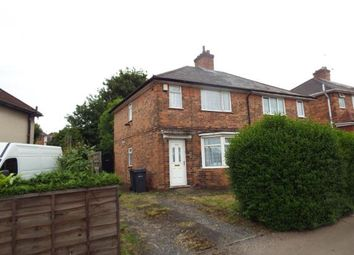 Thumbnail 3 bed end terrace house for sale in Wash Lane, Birmingham, West Midlands