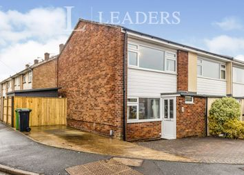 Thumbnail 2 bed end terrace house to rent in Watersedge Road, Cosham, Portsmouth