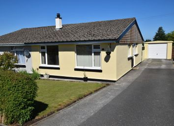 Thumbnail 2 bed semi-detached bungalow for sale in Dennis Gardens, Tregadillett, Launceston