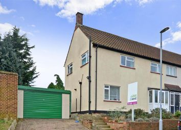 Thumbnail 3 bedroom semi-detached house for sale in Cox Lane, Chessington, Surrey