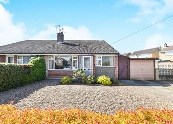 Thumbnail 3 bed semi-detached bungalow for sale in Onslow Road, Mickleover, Derby