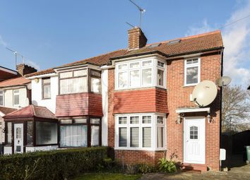 Thumbnail 4 bed semi-detached house for sale in Grampian Gardens, Golders Green Estate