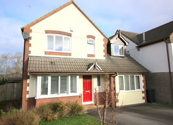 Thumbnail 4 bedroom detached house for sale in Highfield Park, Latchbrook, Saltash