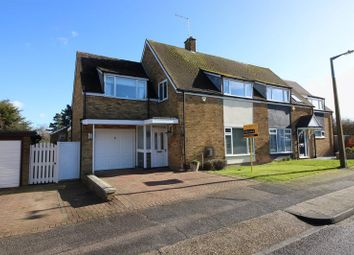 Thumbnail 4 bed semi-detached house for sale in Brooklane Field, Harlow