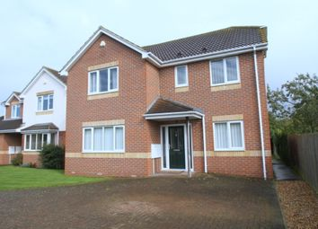 Thumbnail 4 bed detached house to rent in Mountbatten Place, Bedford