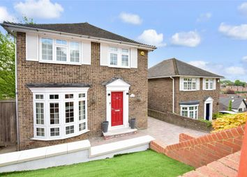 Thumbnail 3 bed detached house for sale in Prince Charles Avenue, Walderslade, Chatham, Kent