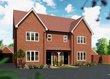 "Thumbnail 3 bed detached house for sale in ""The Cypress"" at Maddoxford Lane, Botley, Southampton"