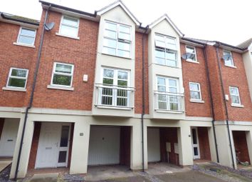 Thumbnail 3 bedroom town house for sale in Church Lane North, Darley Abbey, Derby