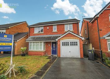 Thumbnail 4 bedroom detached house for sale in Higher Clough Close, Bolton