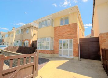 Thumbnail 3 bed detached house for sale in Castlemain Avenue, Southbourne, Bournemouth
