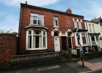 Thumbnail 4 bedroom terraced house for sale in Delamere Street, Crewe, Cheshire