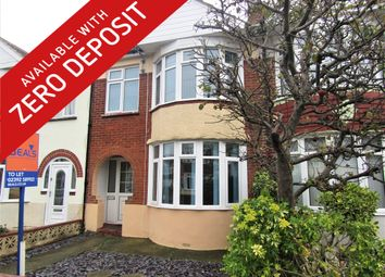 Thumbnail 3 bed terraced house to rent in Hill Park Road, Gosport