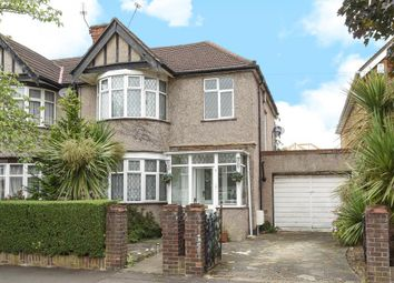 Thumbnail 3 bed semi-detached house for sale in Wykeham Road, Harrow
