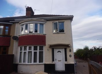 Thumbnail 3 bed end terrace house to rent in Millbank Lane, Thornaby, Stockton-On-Tees