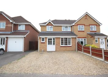 Thumbnail 3 bed semi-detached house for sale in Kiln Road, Horsford, Norwich