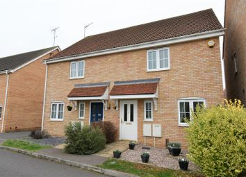 Thumbnail 3 bed semi-detached house for sale in East Of England Way, Orton Northgate, Peterborough