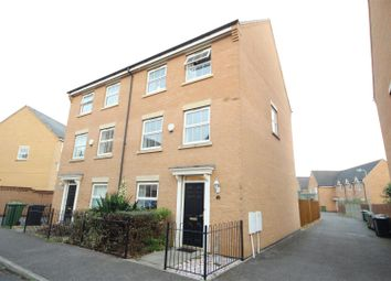 Thumbnail 4 bed town house for sale in Buckthorn Road, Hampton Hargate, Peterborough
