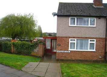 Thumbnail 2 bedroom semi-detached house for sale in Winsford Avenue, Allesley Park, Coventry