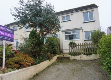 Thumbnail 4 bed end terrace house for sale in Mount Batten Close, Newquay