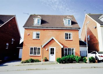 Thumbnail 5 bed detached house for sale in Barley Drive, Burton Latimer, Kettering