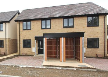 Thumbnail 2 bed semi-detached house for sale in Squires Close, Cambridge, Cambrdigeshire
